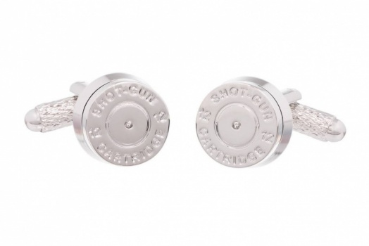 Shotgun Cartridge End Cufflinks